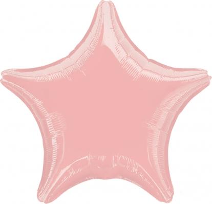 """Fooliumist õhupall  """"Roosa täht"""" (45 cm)"""
