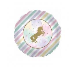 """Fooliumist õhupall  """"Sädelev ükssarvik"""" (45,7 cm)"""