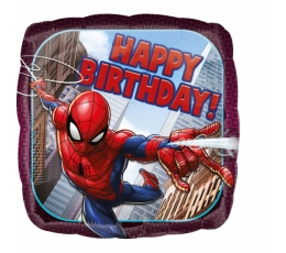"Fooliumist õhupall ""Spider Man-Happy birthday"""