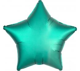 "Fooliumist õhupall  ""Türkiisi värvi täht"" (45 cm), matt"