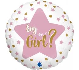 "Fooliumist õhupall'""Boy or Girl?"" (46 cm)"