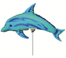 "Fooliumist õhupall ""Delfiin"" (10tk / ""14"" 15x35 cm.)"
