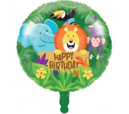 """Fooliumist õhupall """"Džungel"""" (45,7 cm)"""