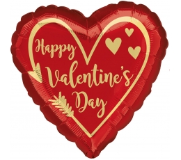 "Fooliumist õhupall ""Happy Valentines day"" (17"" 43cm.)"