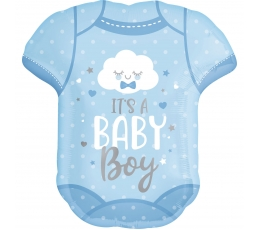 "Fooliumist õhupall ""It's a baby boy"" (55x60 cm)"