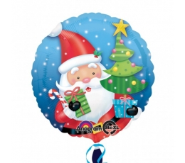 """Fooliumist õhupall """"Jõuluvana"""" (17 """"43 cm.)"""