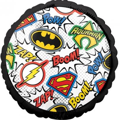 """Fooliumist õhupall """"Justice League. Superkangelased"""" (43 cm)"""