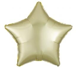 """Fooliumist õhupall """"Kollane täht"""", matt (48 cm)"""
