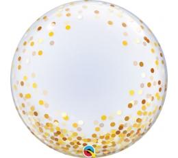 "Fooliumist õhupall ""Kuldne konfett"" (60 cm / Q)"