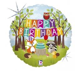 """Fooliumist õhupall """"Metsa sünnipäev"""" (46 cm)"""