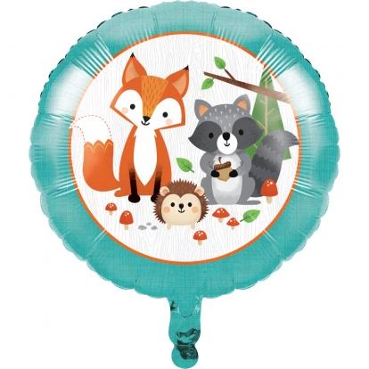 """Fooliumist õhupall """"Metsloomad"""" (45,7 cm)"""