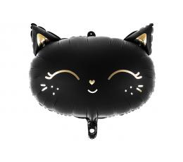 "Fooliumist õhupall ""Must kass"" (48 x 36 cm)"