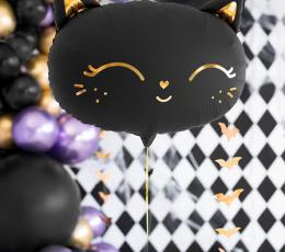 """Fooliumist õhupall """"Must kiisu"""" (48 x 36 cm) 1"""