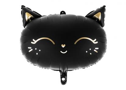 """Fooliumist õhupall """"Must kiisu"""" (48 x 36 cm)"""