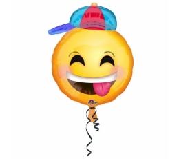 """Fooliumist õhupall """"Mütsiga naeratus"""" (43 cm)"""