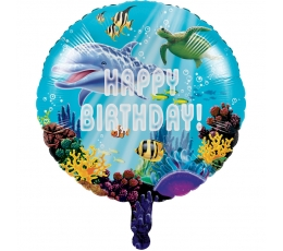 """Fooliumist õhupall """"Ookeani saladused"""" (45 cm)"""