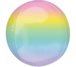Fooliumist õhupall-orbz, pastelne ombre (38 cm)