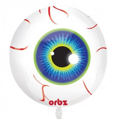 """Fooliumist õhupall-orbz """"Silmad"""" (38 x 40 cm)"""