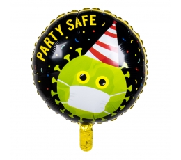 "Fooliumist õhupall ""Party safe"" (45 cm)"