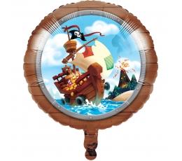 """Fooliumist õhupall """"Piraadid merel"""" (45 cm)"""