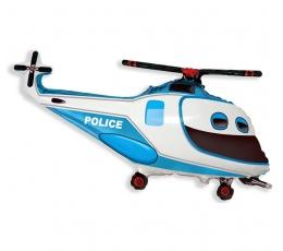 """Fooliumist õhupall """"Politsei helikopter"""" (60 cm)"""