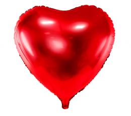 "Fooliumist õhupall ""Punane süda"" (45 cm)"