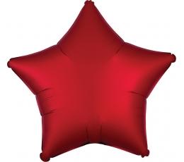 """Fooliumist Õhupall """"Punane täht"""" (48 cm)"""