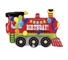 """Fooliumist õhupall """"Rong sünnipäevaks"""" (94 cm)"""