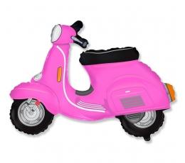"""Fooliumist õhupall """"Roosa motoroller"""" (60 cm)"""