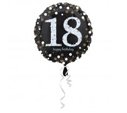 """Fooliumist õhupall """"Sädelev 18"""" (45 cm)"""