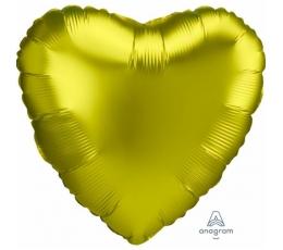 Fooliumist õhupall, sidruni värv, matt (43 cm)