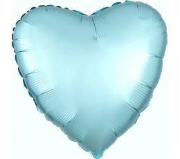 """Fooliumist õhupall """"Sinine süda"""", matt (43 cm)"""
