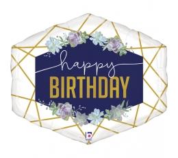 """Fooliumist õhupall """"Sünnipäeva kaunistused"""" (76 cm)"""