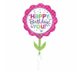 """Fooliumist õhupall """"Sünnipäeva lill"""" (53x73 cm)"""