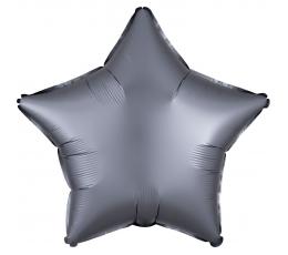 Fooliumist õhupall-täht, grafiidivärvi, matt (48 cm)