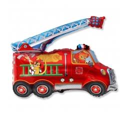 """Fooliumist õhupall """"Tuletõrjeauto"""" (60 cm)"""