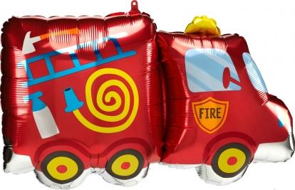 """Fooliumist õhupall """"Tuletõrjeauto"""" (76 x 45 cm)"""