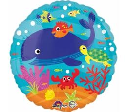 """Fooliumist õhupall """"Under the Sea"""" (43 cm)"""