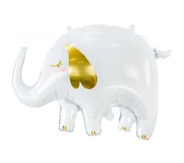 """Fooliumist õhupall """"Valge elevant"""" (61x46 cm)"""