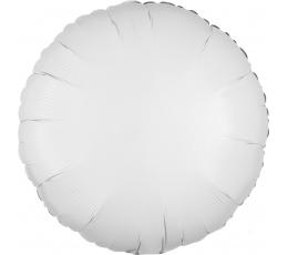 """Fooliumist õhupall """"Valge ring"""" (43 cm)"""