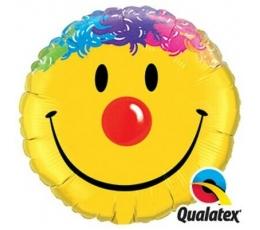 """Fooliumist õhupall """"Värviline naeratus"""" (91 cm)"""