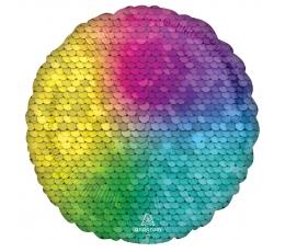 """Fooliumist õhupall """"Vikerkaare läige"""" (43 cm)"""