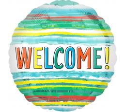 "Fooliumist õhupall ""Welcome"" (43 cm)"
