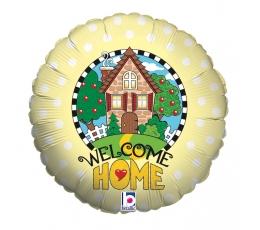 """Fooliumist õhupall  """"Welcome home"""" (46 cm)"""