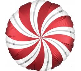 """Fooliumist õhupall""""Punane pulgakomm"""" (45 cm)"""