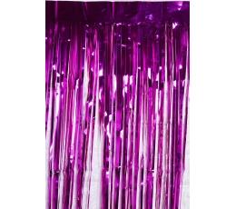 Fooliumkardin-vihm, erkroosa (250x100 cm)