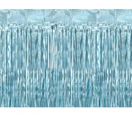 Fooliumkardin-vihm, helesinine (90x250 cm)