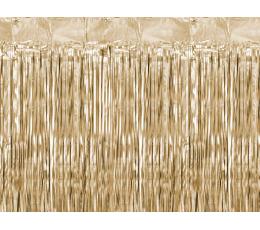 Fooliumkardin-vihm, kuldpruun (90x250 cm)