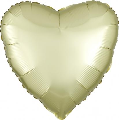 """Fooliumõhupall """"Kollakas süda"""", matt (43 cm)"""