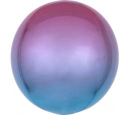 Fooliumõhupall-orbz, lilla-sinine ombre (38 cm)